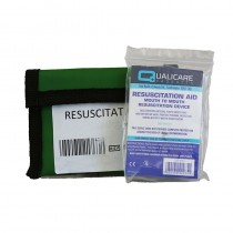 Resuscitation Aid In Keyring Pouch