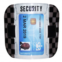 SIA Security Badge Holder Armband - Dark Grey / Black
