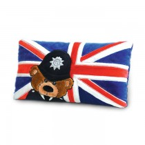 UK Police Bear Cushion