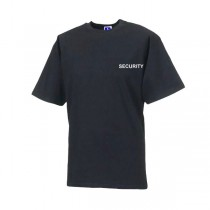 Security Branded T-Shirt - Black