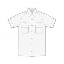 Uniform Shirt - Womens / Short Sleeve / Epaulettes
