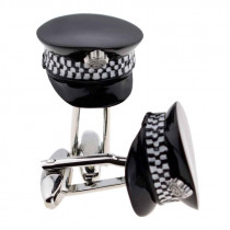 Cufflinks - Police Officer Caps