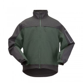 5.11 Chameleon Softshell Jacket - Moss / Black