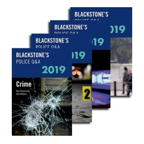 Blackstone's Police Q&A: Four Volume Pack 2019