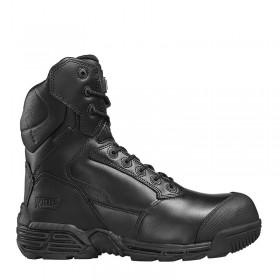 Magnum Stealth Force 8.0 CT Side-Zip Bump Toe Safety Boot - Size 6
