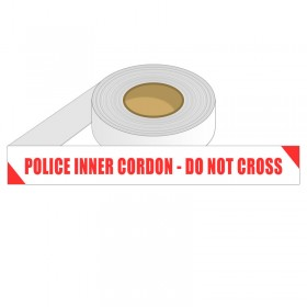 Barrier Tape - POLICE INNER CORDON DO NOT CROSS