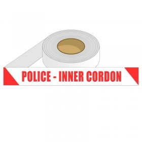Barrier Tape - POLICE INNER CORDON