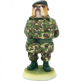 Bulldog 'British Armed Forces' Figurine