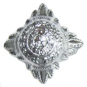 Chrome Plated 22mm Police Bath Star