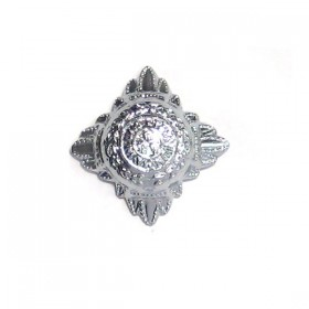 Chrome Plated 16mm Police Bath Star