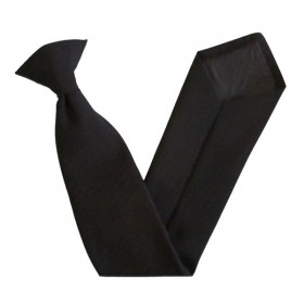 Clip-On Tie - Black