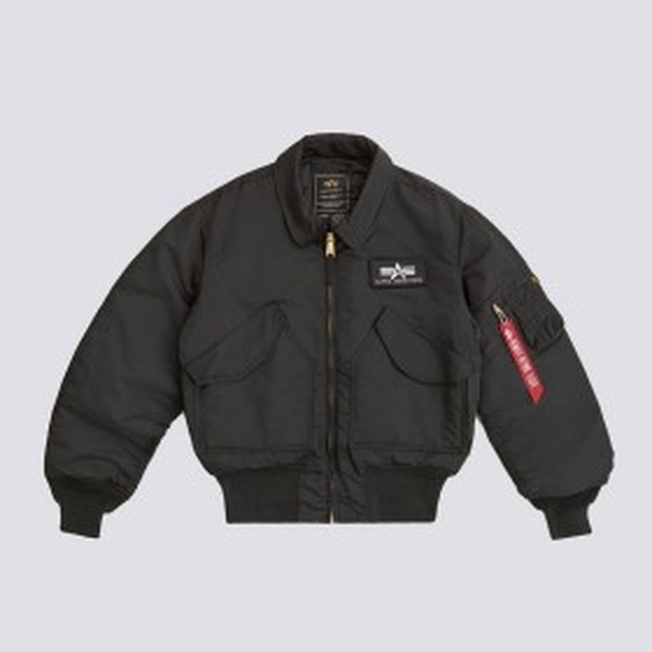 Alpha Industries CWU 45/P Flight Jacket - Black