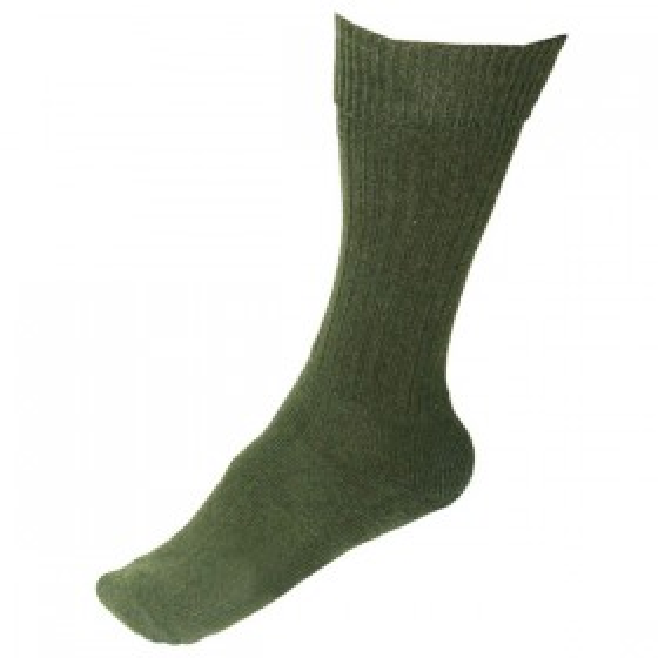 Tropical Socks - Olive