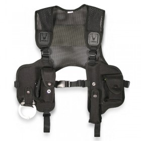 Police Issue Mini Vest - Black