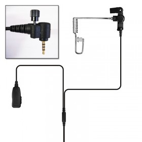 Tactical Jack Police Earpiece - Sepura SRP2000