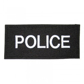 Fabric Velcro Badge - POLICE