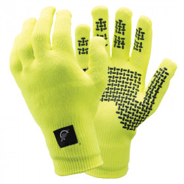SealSkinz Ultra Grip Hi-Vis Gloves