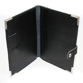 Pocket Notebook Holder - Side Opening with Tab - 16.5cm