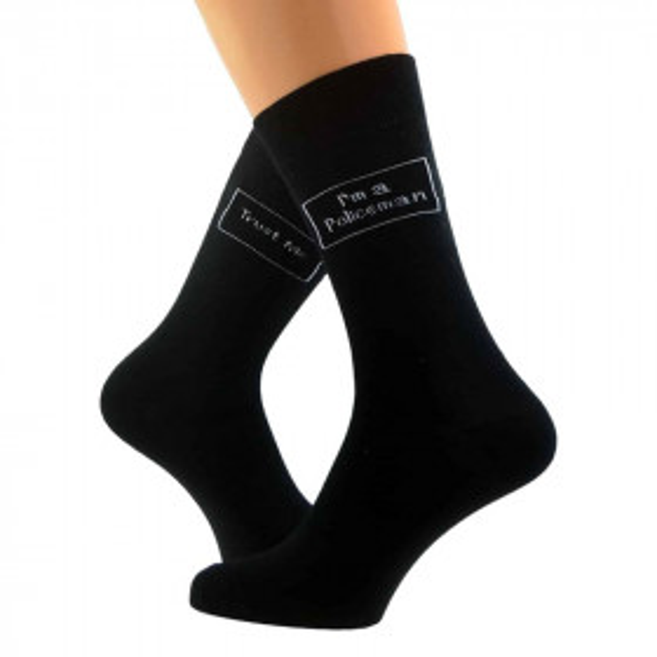 Novelty Socks - Trust me, I'm a Policeman