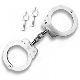 Chain Handcuffs - Nickel