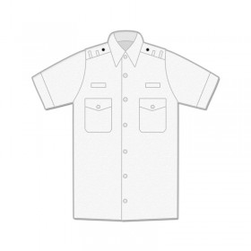 Uniform Shirt - Mens / Short Sleeve / Shoulder Loops