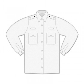 Uniform Shirt - Womens / Long Sleeve / Shoulder Loops