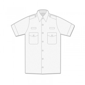 Uniform Shirt - Mens / Short Sleeve / Epaulettes