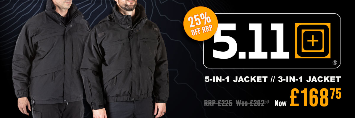 5.11 Jackets Offer