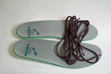 Lowa insoles and laces