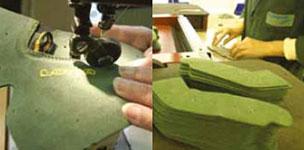 Stitching Lowa boots